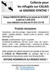 Affiche Collectes A4 - FTG 01.06.2016